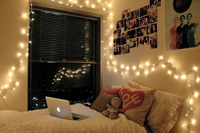 Great String Lights and Fairy Light for Bedroom Designs