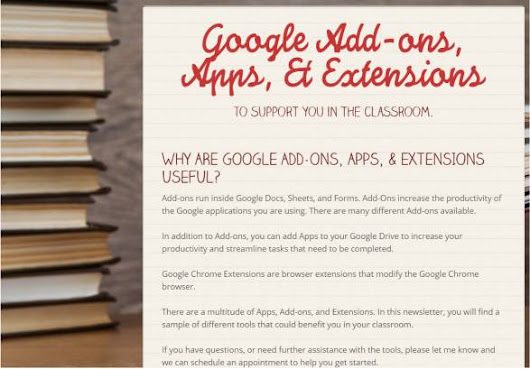 Google Add-ons, Apps & Extensions