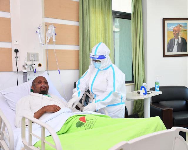 Gatundu MP Moses Kuria in hospital