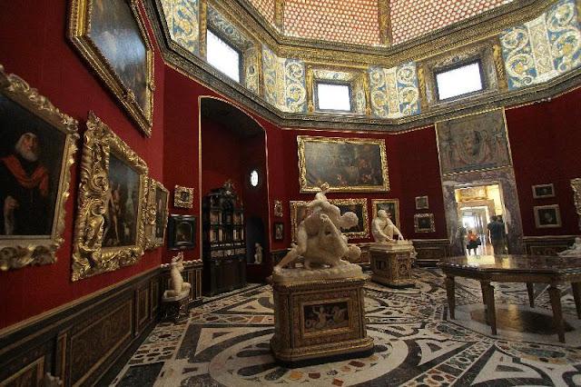 Museu Galleria degli Uffizi em Florença
