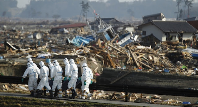 Accidente Nuclear de Fukushima, Costa Noreste de Japón
