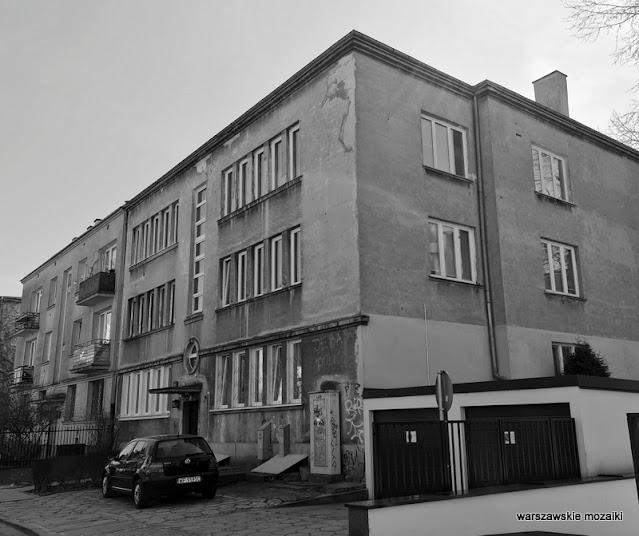 Warszawa Warsaw architektura architecture modernizm funkcjonalizm Saska Kępa Wiediger Zinserling lata 30