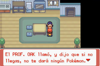 Pokemon Final Red para GBA Graficos de NDS