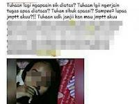 Buat Status Capek dan Pengen Dijemput Tuhan, Wanita ini Justru Dibully Netizen