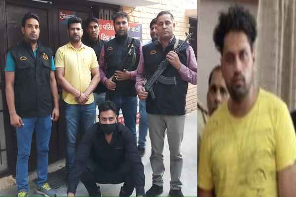 gangster-manoj-mangaria-arrested-by-faridabad-police