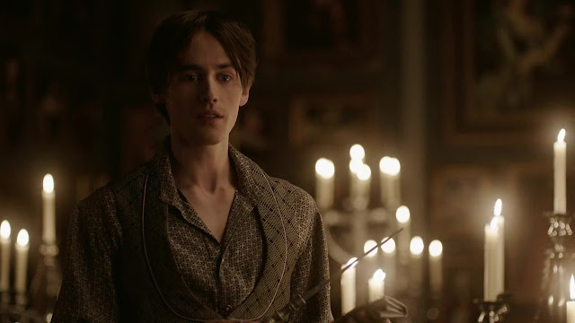 ausCAPS: Reeve Carney shirtless in Penny Dreadful 1-04
