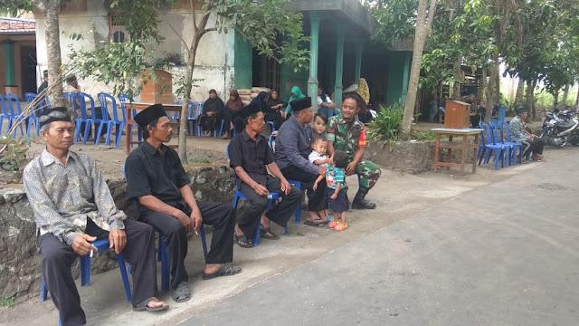 Wujud Kedekatan Warga Bersama TNI Babinsa Hadir Tahyiah