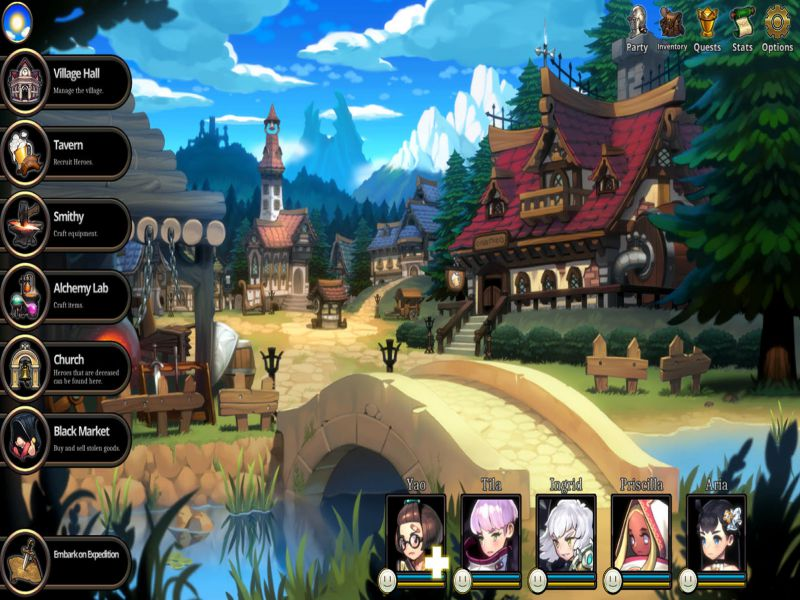 ARIA CHRONICLE NECROKNIGHT PC Game Free Download