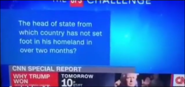 Choi! Nigeria And President Buhari Becomes A Quiz Issue On CNN (Watch Video)
