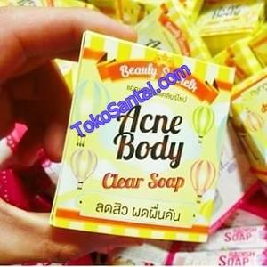 Acne Body Clear Soap Beauty Secret 4