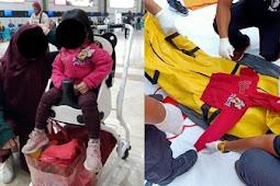 MOMEN Saat Jenazah Yumna, Bocah Berjaket Minimouse Korban Sriwijaya Air Ditemukan, Ibu Hamil Adiknya