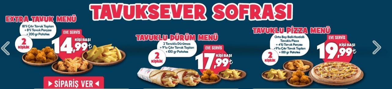 dominos ramazan 2020 iftar menü ve fiyatları paket servis