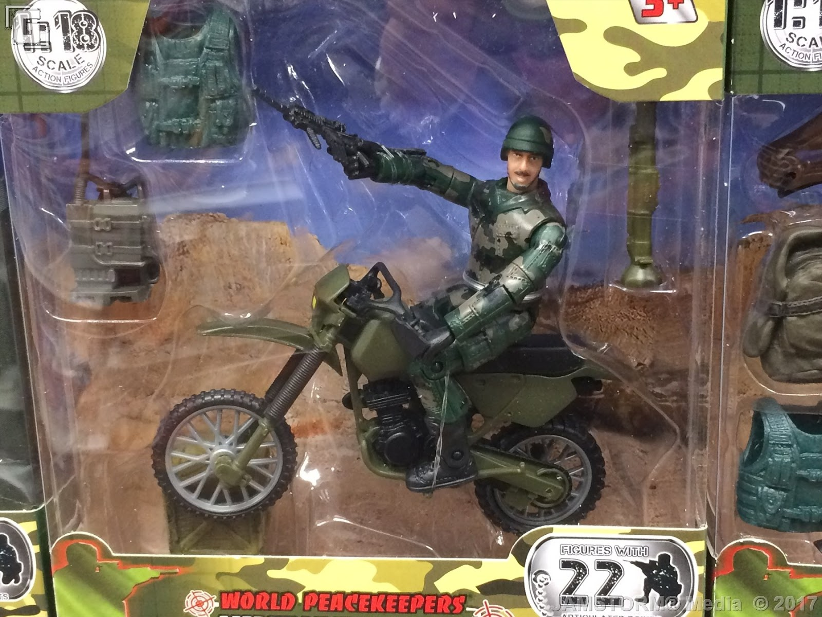 World Peacekeepers Single Military Army Toy Figure Assorted 1:18 Scale