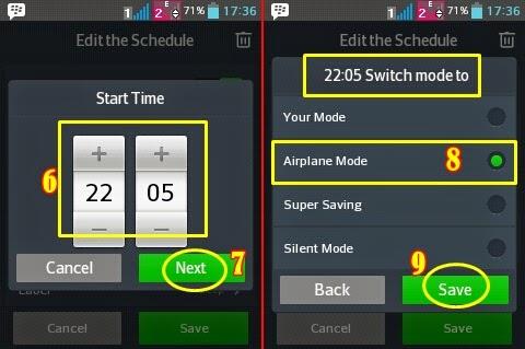 Cara Aktifkan Mode Pesawat di Android secara Otomatis