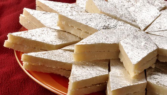 Kaju Katli Recipe images
