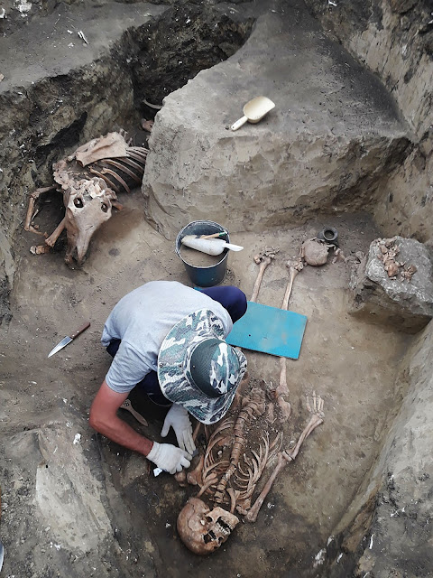 Remains of 2,000-year-old 'barbarian woman' with Roman jewellery found in Russia