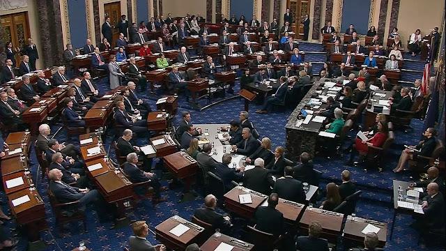 مجلس الشيوخ الأمريكي الإعلان عن حزمة مساعدات جديدة قريباً