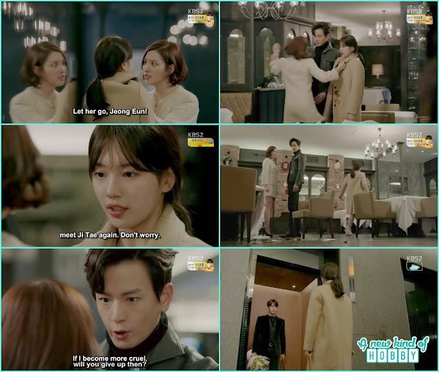 ji taek, noh eul and joon young at Jeong eun birthday - Uncontrollably Fond - Episode 14 Review