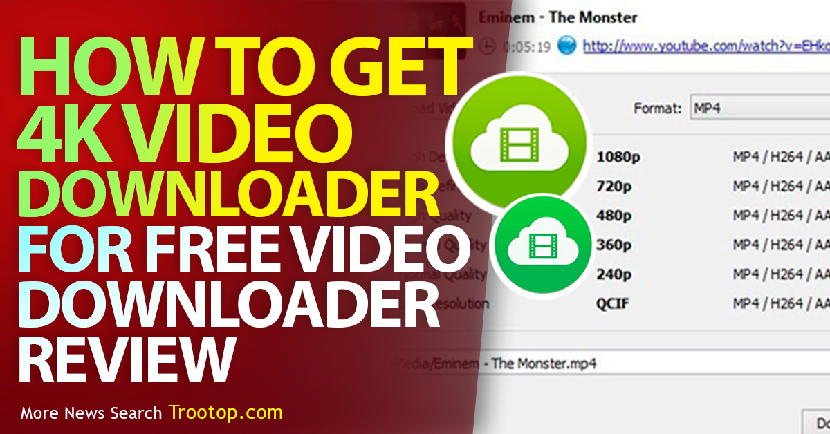 How to get 4K video downloader for free, Video downloader review