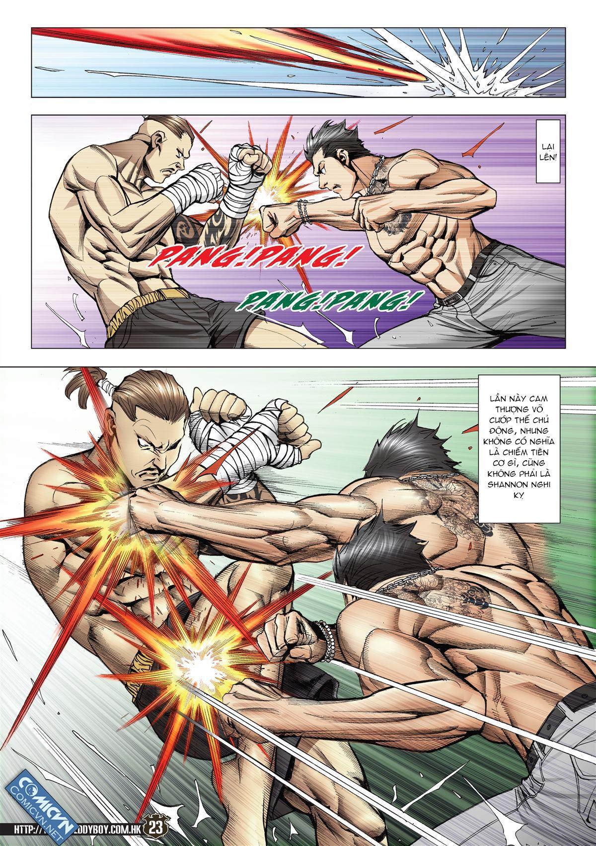 Người Trong Giang Hồ chapter 2143: ác chiến vua muay thai trang 21