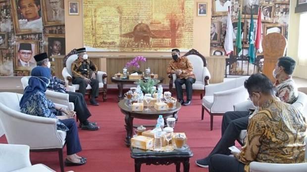 Moeldoko Temui Ketum PP Muhammadiyah Haedar Nashir, Ini yang Dibahas