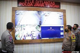 Tilang Electronic Jateng- 27 CCTV Speedcam ETLE telah di Pasang Tindak Pelanggar Lalin