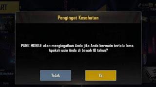 Cara Paling Mudah Mengatasi Pembatasan Usia Di Game PUBG Mobile
