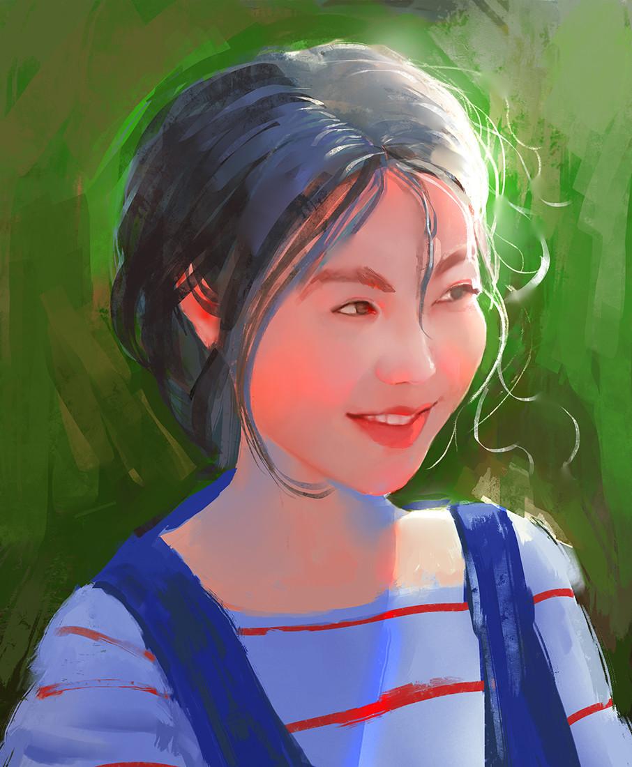 Digital Art By Sarayu Ruangvesh (Ron-Faure)