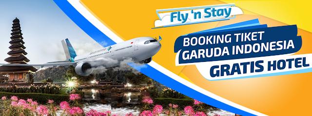Booking Tiket Pesawat Garuda di Mister Aladin Bisa Dapat Gratis Hotel