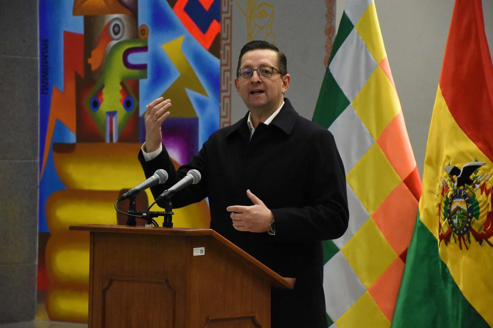 El ministro de Desarrollo Productivo, Oscar Ortiz / ABI