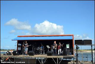 la scène de la fête de la mer Port Moguériec Sibiril