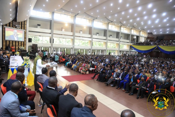 """""""Partner With Gov't To Help Develop Ghana"""" – President Akufo-Addo To Churches"""