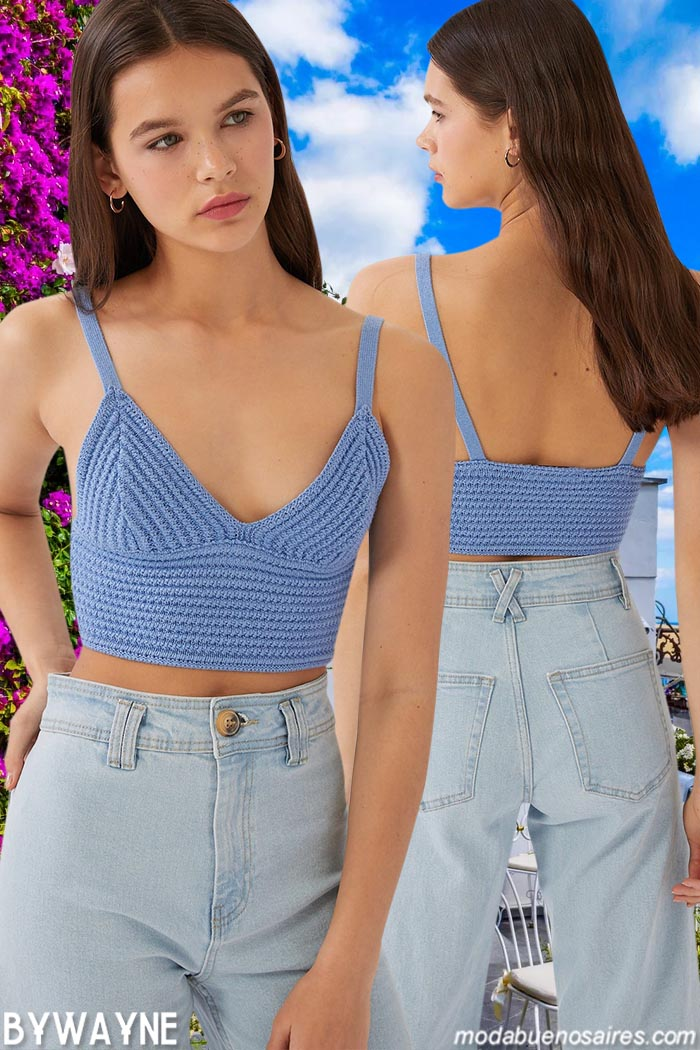 jeans tiro alto verano 2021