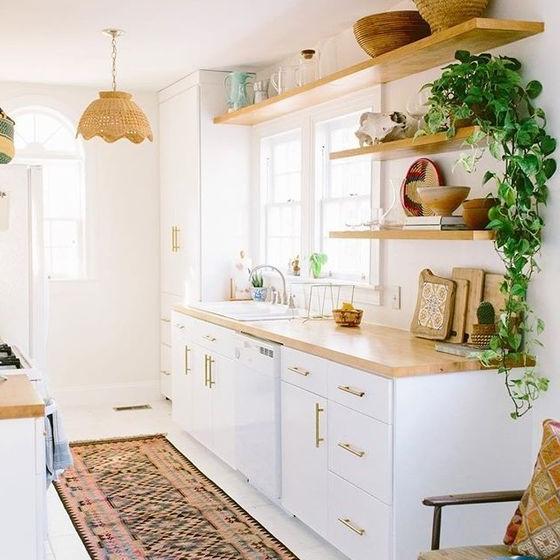 Desain Dapur Sederhana Tanpa Kitchen Set Yang Sedang Trend