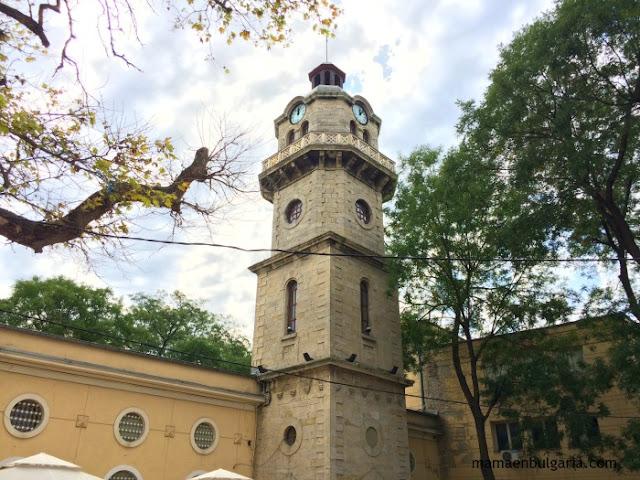 La torre del reloj de Varna