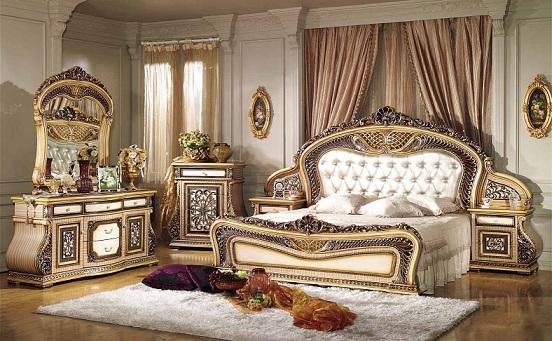 Phòng ngủ mang phong cách tân cổ điển châu âu