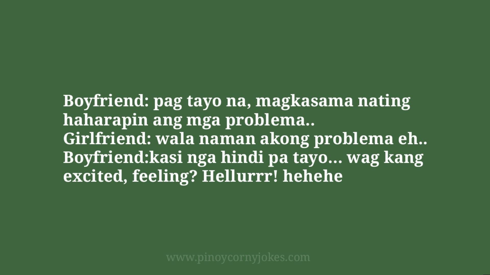 harapin ang problema corny jokes tagalog