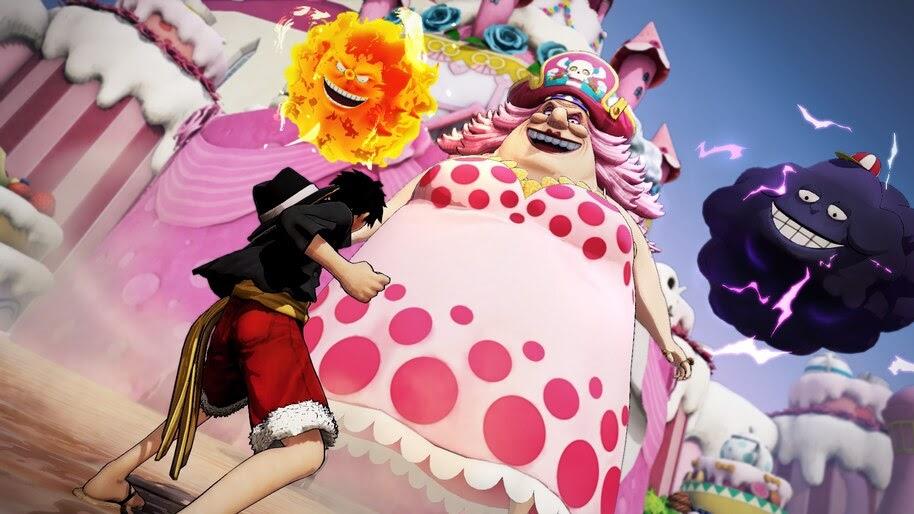 Luffy Big Mom One Piece Pirate Warriors 4 4k Wallpaper 3684