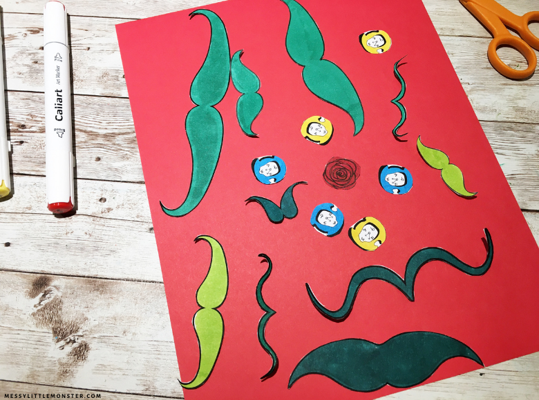 Salvador Dali art for kids