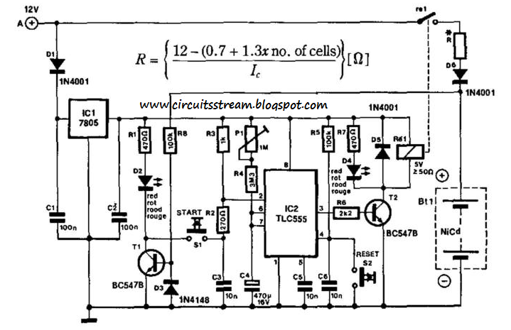 Build a Portable Nicad    Battery       Charger    Circuit    Diagram      Electronic Circuit    Diagrams         Schematics