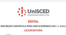NOVO EDITAL UNISCED LICENCIATURAS E MESTRADOS  2022