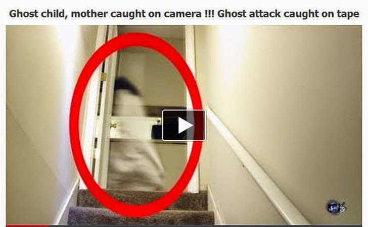 Real Ghost Caught on Camera! New Facebook Scams Lure Users to Download Malware