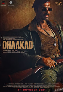 Dhaakad First Look Poster 4