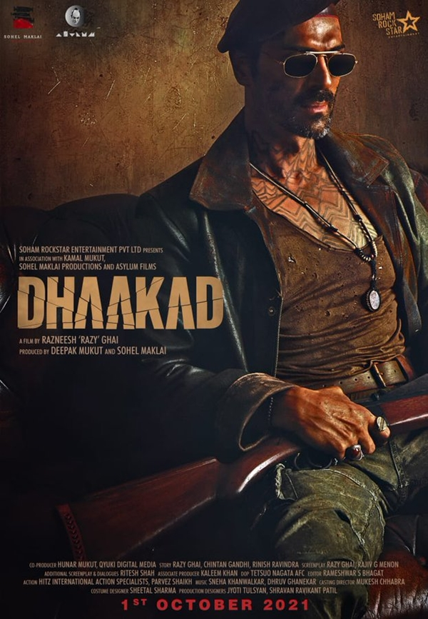 Dhaakad: Box Office, Budget, Hit or Flop, Predictions, Posters, Cast & Crew, Release, Story, Wiki