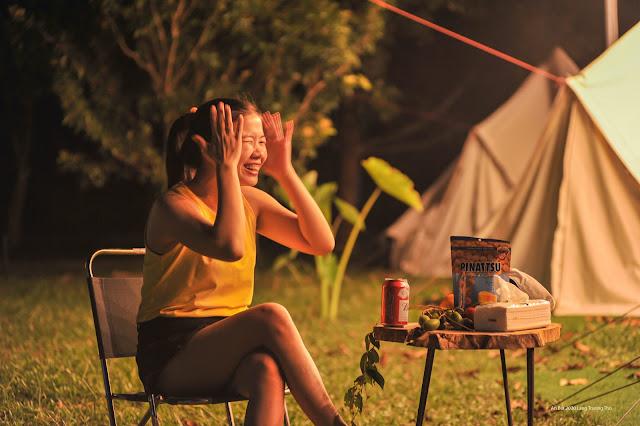 Đổi gió ngoại thành với trải nghiệm cắm trại trong vườn trái cây cùng trẻ nhỏ