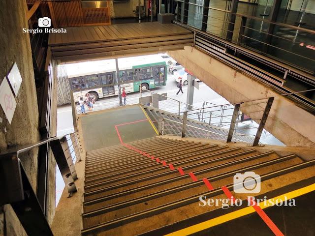 Escadaria do MASP (vista interna)