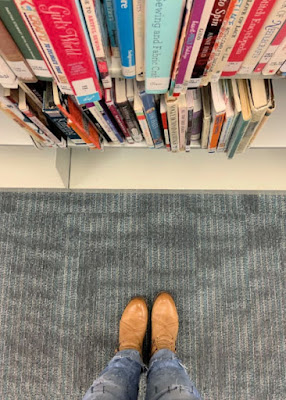Happiness Hacks for Life's busy seasons - make time for yourself - go to the library