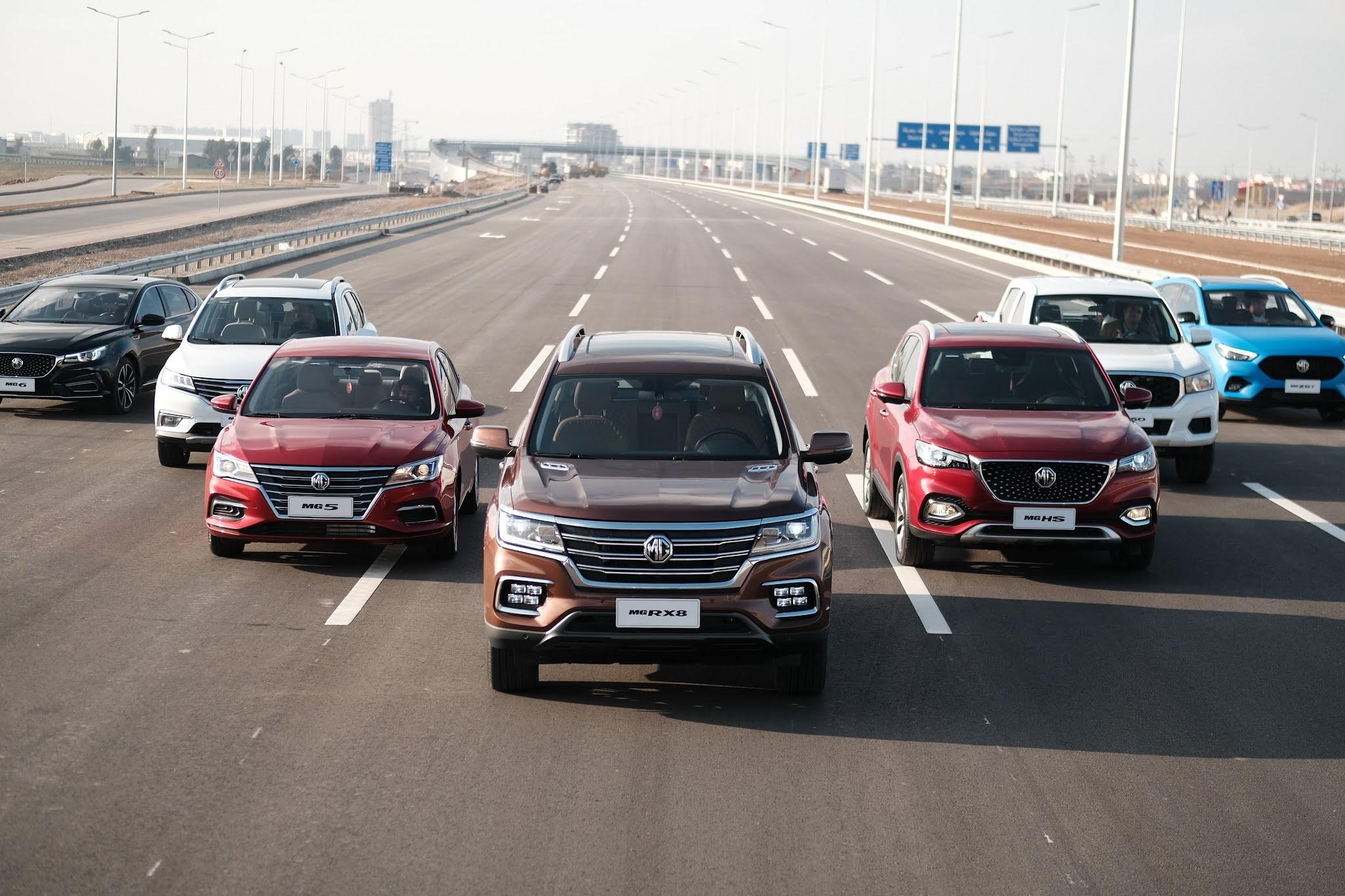 'إم جي موتور' تستمر في كسب ثقة العملاء في الخليج وتحقق أداءً استثنائياً