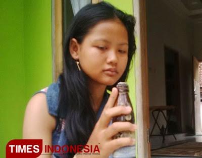 Galih gadis penangkap tuyul di Banyuwangi.
