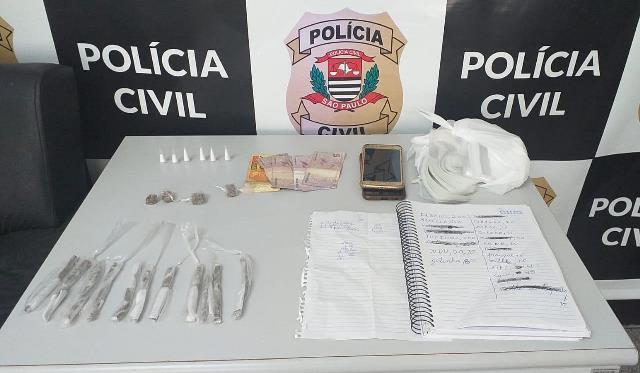 Investigação da Polícia Civil resulta na prisão de homem que armazenava drogas para venda na sua residência em Eldorado